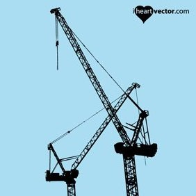 Cranes Vector - Free vector #221947