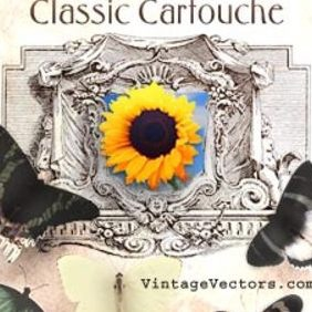 Vintage Cartouche - vector #222077 gratis