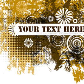 Grunge Text Banner - Free vector #222137