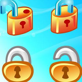 Free Vector Lock Icons - Kostenloses vector #222317