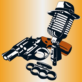 Gangster Set - Free vector #222567