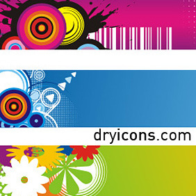 Banners Attack 2 - Free vector #222777