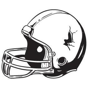 Football Helmet - vector gratuit #223227