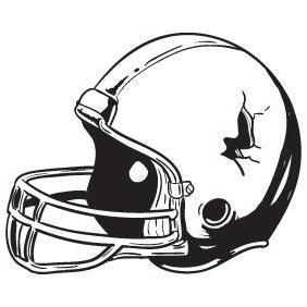 Football Helmet - Free vector #223227