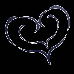 Tribal Heart Stock - Free vector #223487