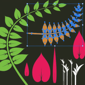 Foliage Vector - Kostenloses vector #223837