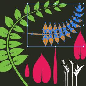 Foliage Vector - Free vector #223837