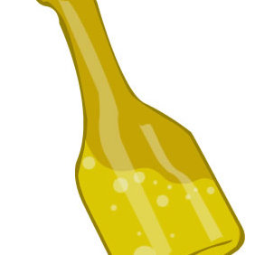 Vector Bottle - vector gratuit #223867