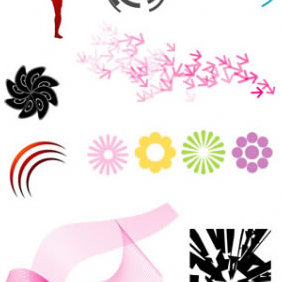 Random Vector Objects - Spoon Graphics - vector gratuit #223897