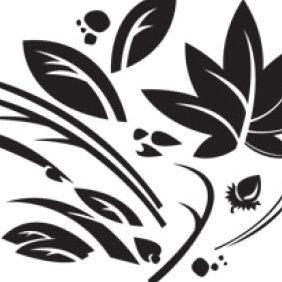 Leafy Pod Vector - Free vector #223947