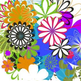 Flowers 2 - бесплатный vector #223957