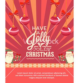 Free christmas vector - Kostenloses vector #224257