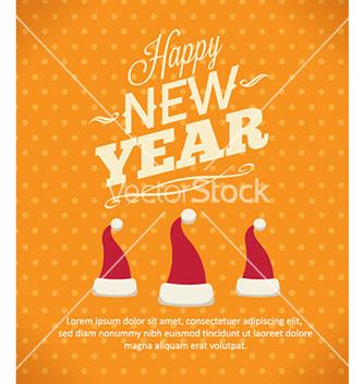 Free happy new year vector - Kostenloses vector #224437
