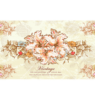 Free colorful floral vector - Kostenloses vector #224697