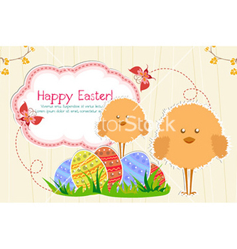 Free easter background vector - Free vector #224717