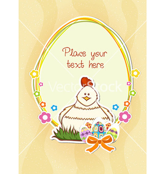 Free easter frame vector - Free vector #224867