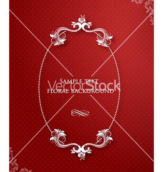 Free floral frame vector - Kostenloses vector #225107