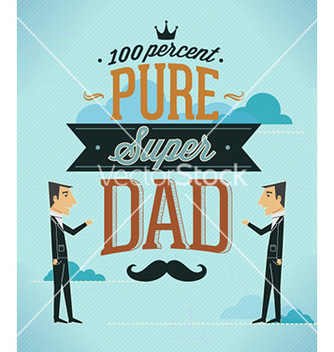 Free fathers day vector - Free vector #225247