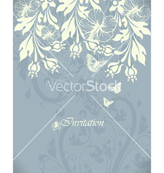 Free floral background vector - Free vector #225517