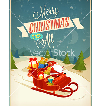 Free christmas vector - vector gratuit #225717