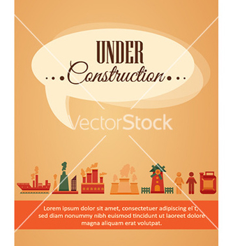 Free with industrial elements vector - Free vector #225827