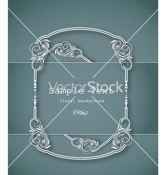 Free floral frame vector - Kostenloses vector #226007