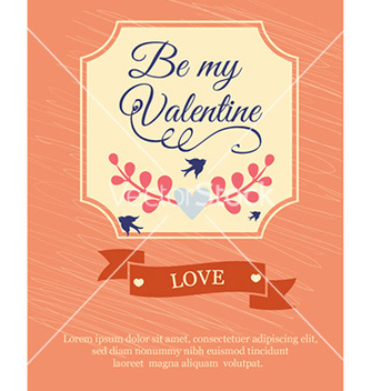 Free happy valentines day vector - Kostenloses vector #226087