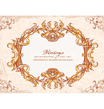Free frame with floral vector - Kostenloses vector #226177