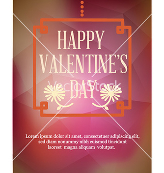 Free happy valentines day vector - vector gratuit #226367