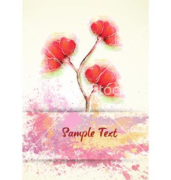 Free colorful floral vector - Kostenloses vector #226417