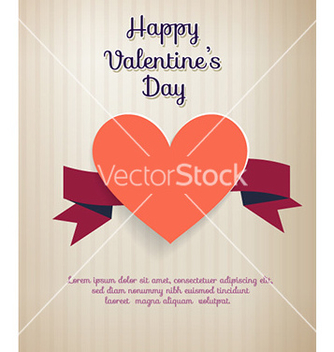 Free happy valentines day vector - vector #226447 gratis