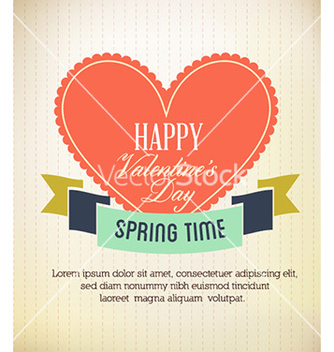 Free happy valentines day vector - vector #226477 gratis