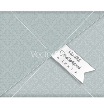 Free floral background vector - Kostenloses vector #226607