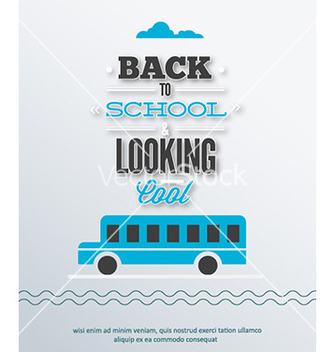 Free back to school vector - бесплатный vector #226847