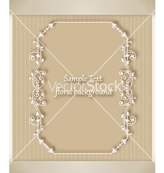 Free floral frame vector - Kostenloses vector #227747