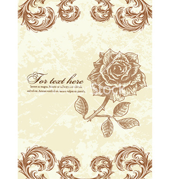 Free vintage floral background vector - Kostenloses vector #228197