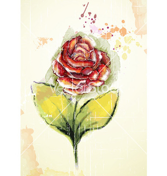Free watercolor floral background vector - Kostenloses vector #228557
