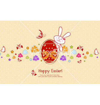 Free easter background vector - Kostenloses vector #228927