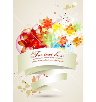 Free colorful abstract banner vector - Free vector #229037