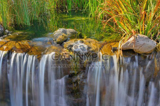 Водопад в Осенний парк - бесплатный image #229537