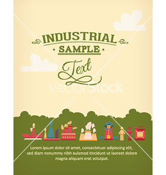 Free with industrial elements vector - Free vector #229637