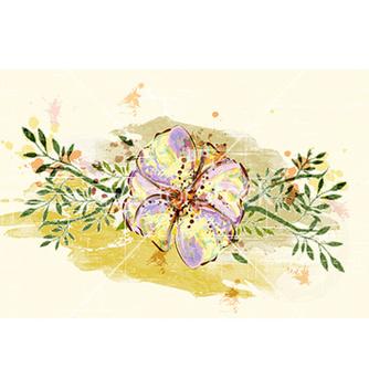 Free colorful floral vector - Kostenloses vector #229777