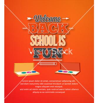 Free back to school vector - Kostenloses vector #229787