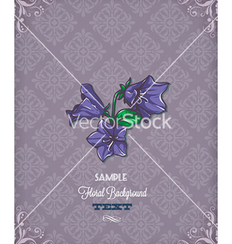 Free floral background vector - Free vector #229887