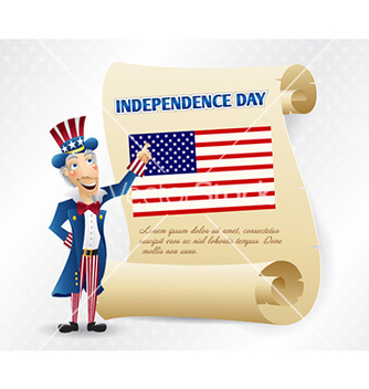 Free 4th of july background vector - Free vector #230947