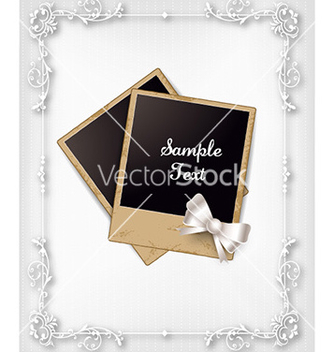 Free floral frame vector - Free vector #230977