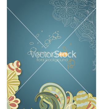 Free floral background vector - Free vector #230997