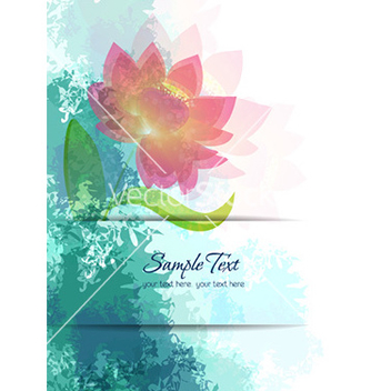 Free spring floral background vector - Free vector #231367