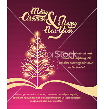 Free happy new year vector - vector #231477 gratis