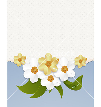 Free abstract floral background vector - Free vector #231897
